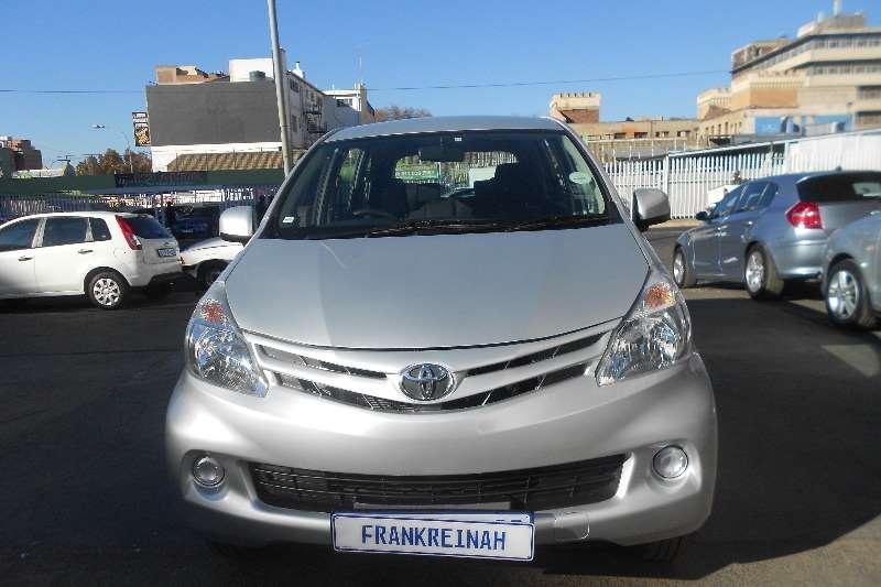 Used 2014 Toyota Avanza 1.5 TX