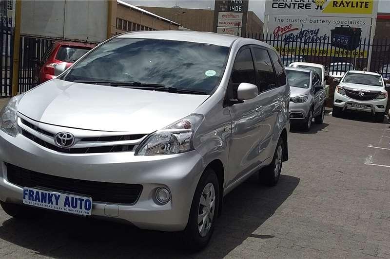 Toyota Avanza 1.5 TX 2015