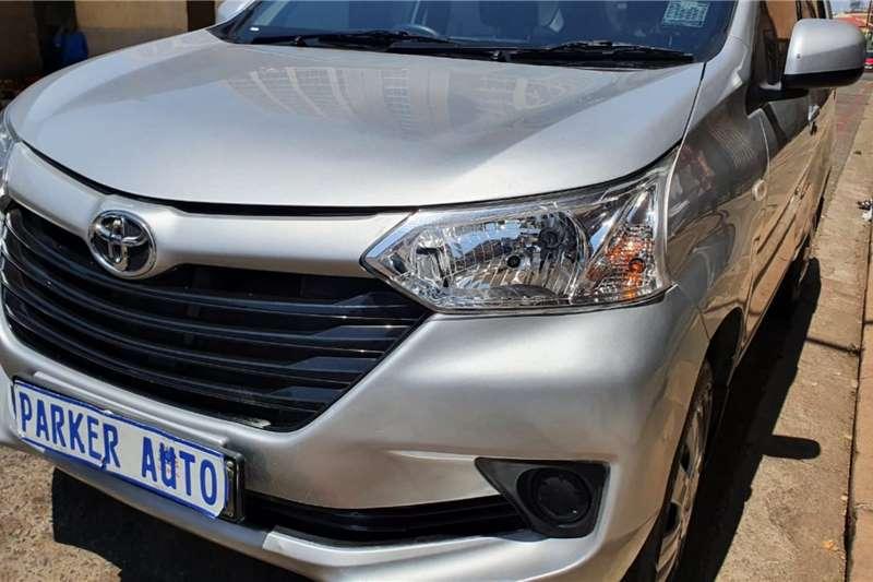Toyota Avanza 1.5x 2015