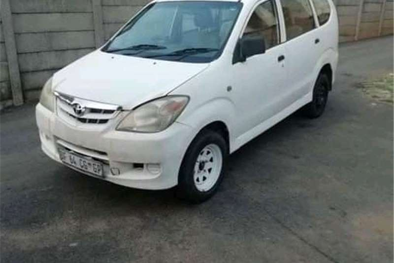 Used 2007 Toyota Avanza