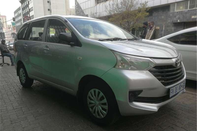 2016 Toyota Avanza