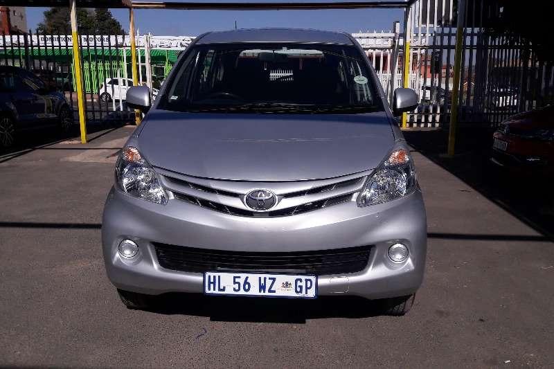 2014 Toyota Avanza 1