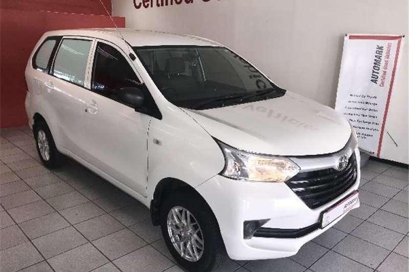 2017 Toyota Avanza 1.3 S panel van
