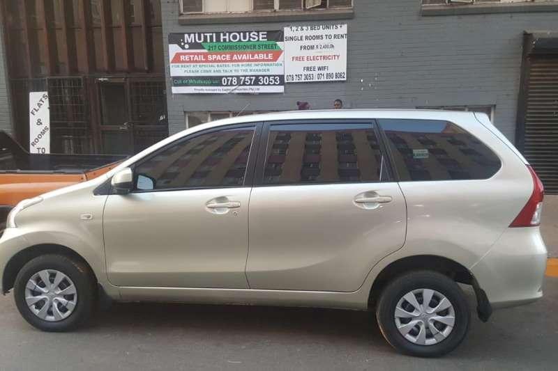 2013 Toyota Avanza 1.5 SX auto