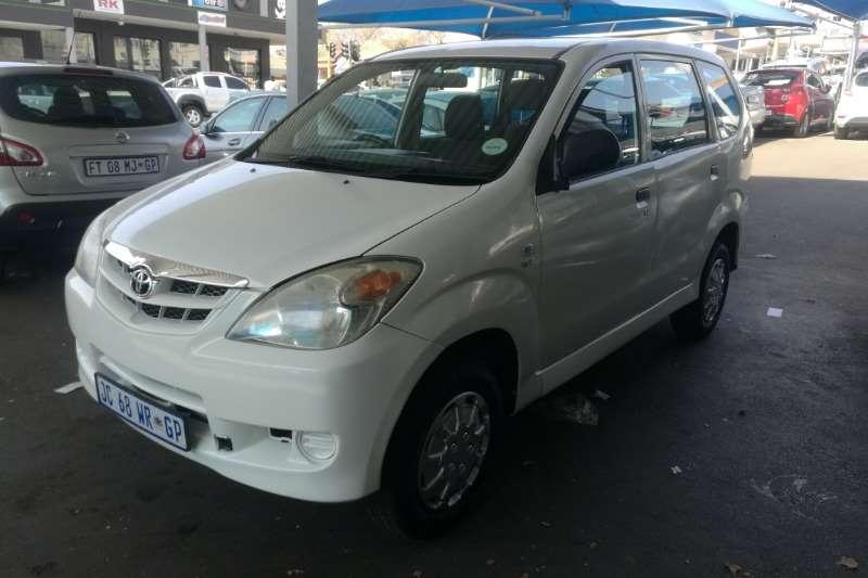 2009 Toyota Avanza 1.5 SX