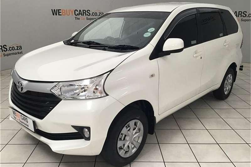 2018 Toyota Avanza 1.5 SX