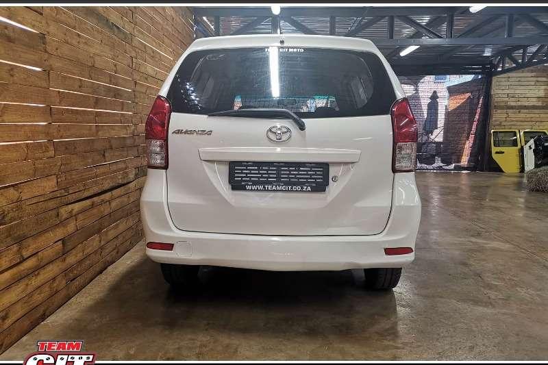 2012 Toyota Avanza 1.3 S panel van