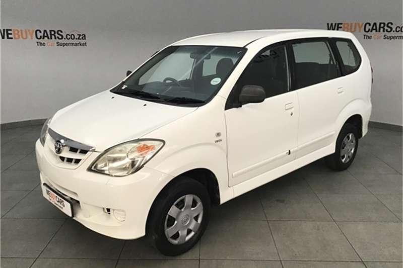 2010 Toyota Avanza 1.3 S