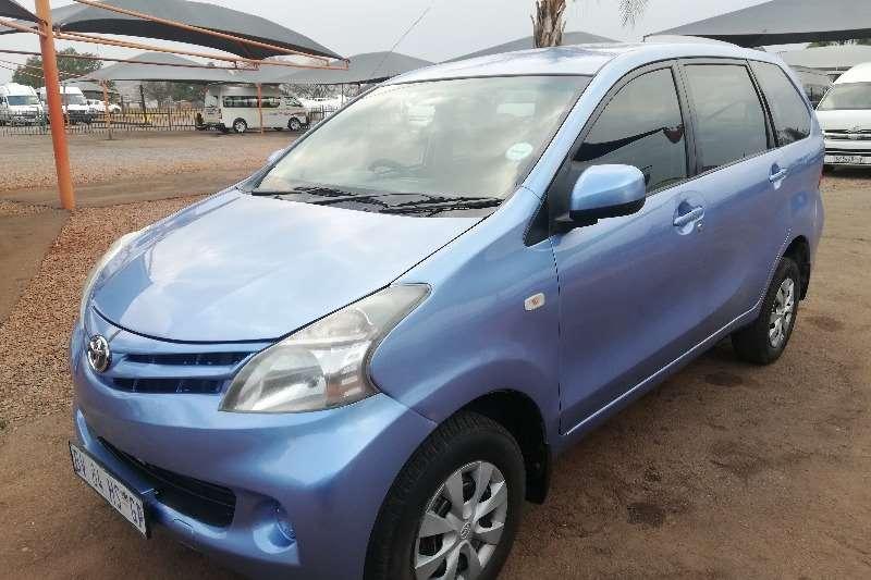 2012 Toyota Avanza 1.5 SX