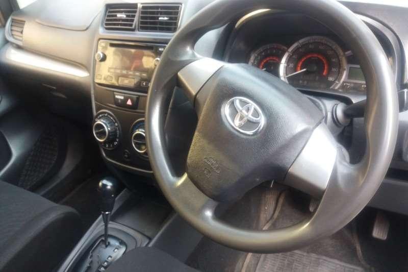 2016 Toyota Avanza 1.5 SX auto