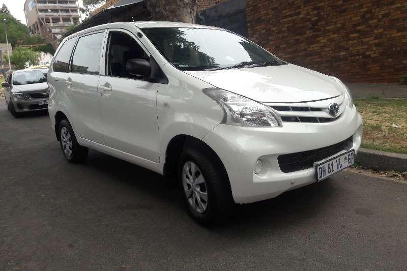 2014 Toyota Avanza 1.3 S