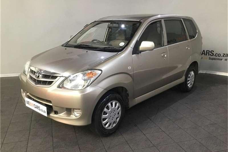 2007 Toyota Avanza 1.5 SX
