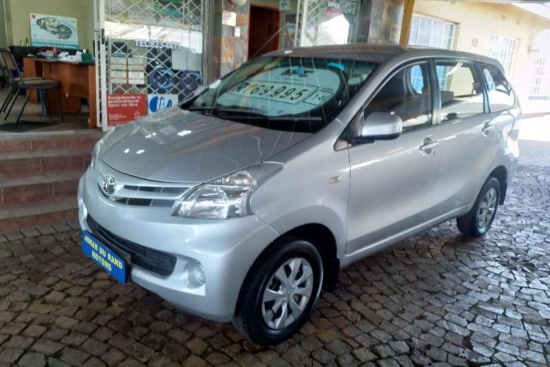 2014 Toyota Avanza 1.5 SX auto