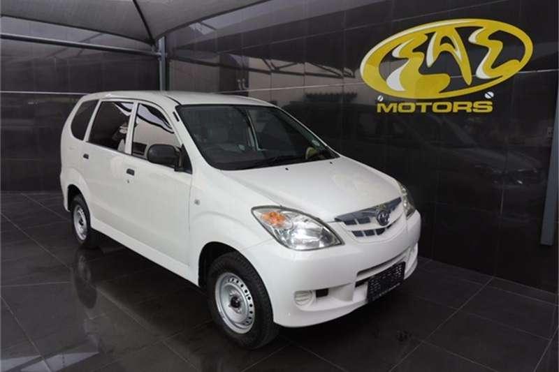 2008 Toyota Avanza 1.3 S panel van