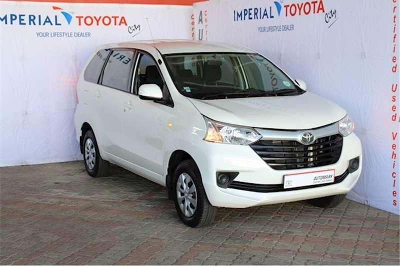 2019 Toyota Avanza 1.3 SX