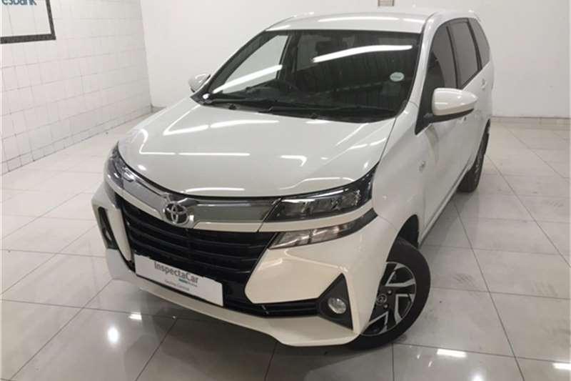 2020 Toyota Avanza AVANZA 1.5 TX