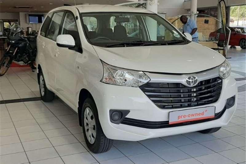 2018 Toyota Avanza AVANZA 1.5 SX A/T