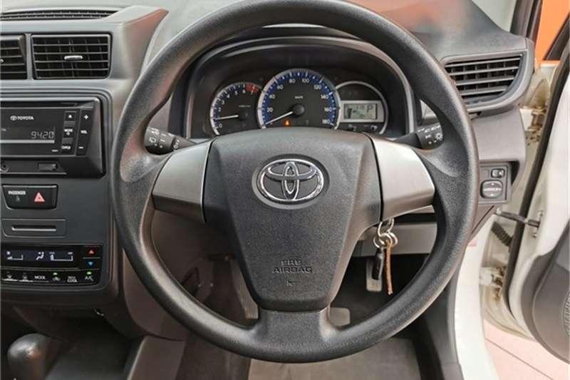 2019 Toyota Avanza 1.5 SX auto