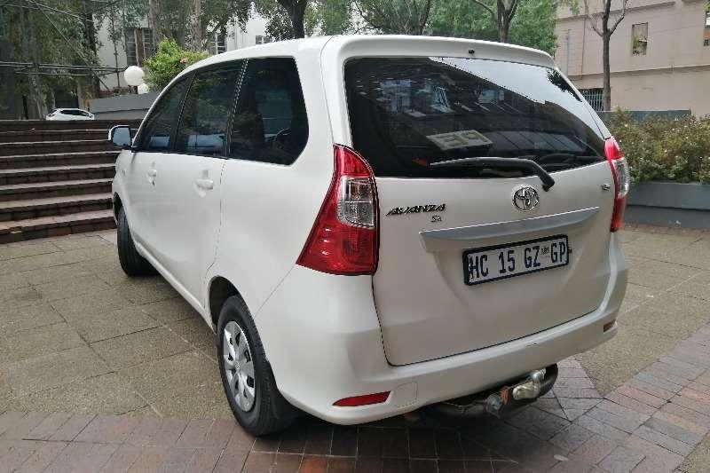 2017 Toyota Avanza AVANZA 1.5 SX A/T