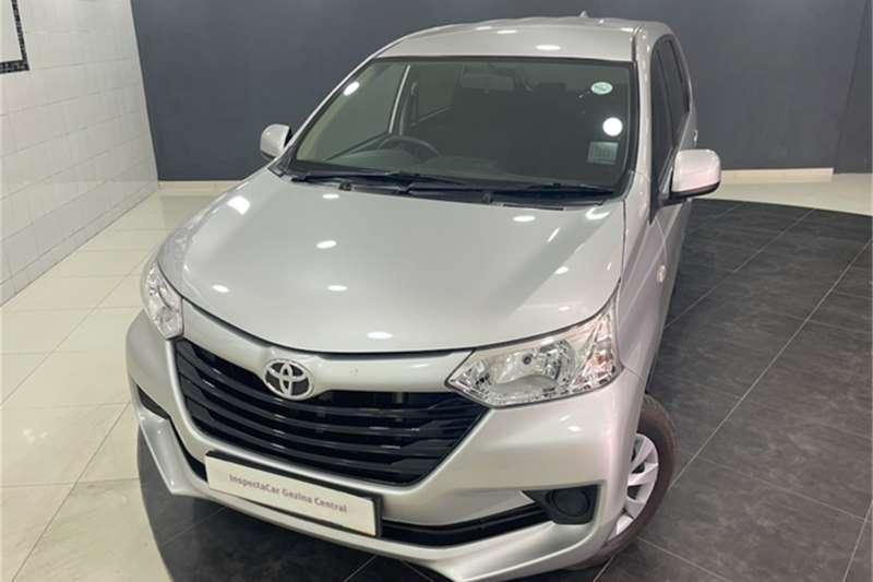 2020 Toyota Avanza