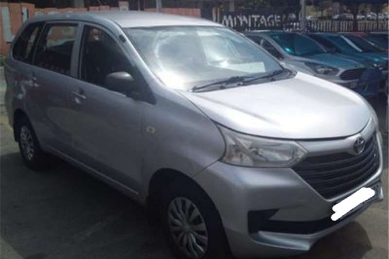 Used 2016 Toyota Avanza Panel Van