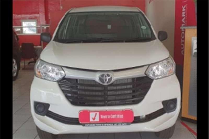 Toyota Avanza Panel Van AVANZA 1.3 F/C P/V 2020