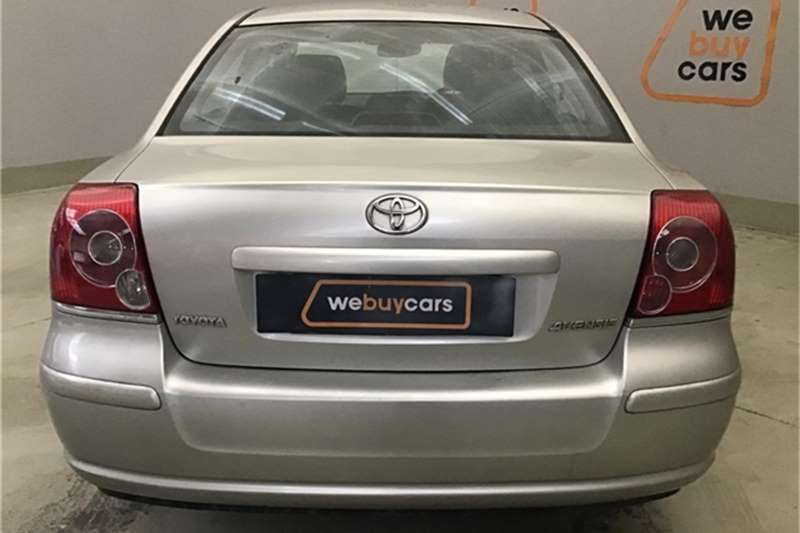 Toyota Avensis 2.0 Advanced automatic 2008