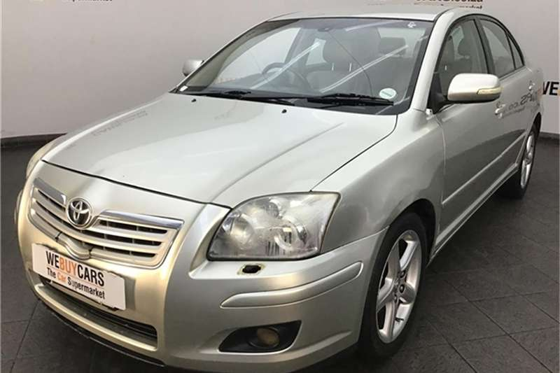 Toyota Avensis 2.2D 4D Exclusive 2007