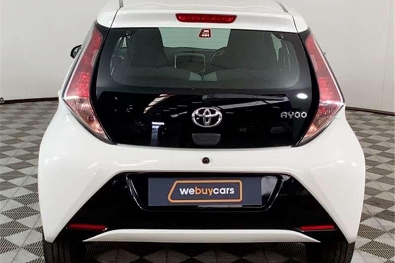 2017 Toyota Aygo Aygo 1.0