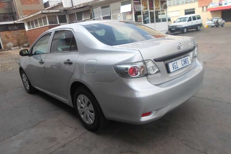 2012 Toyota Corolla Corolla 1.3 Advanced