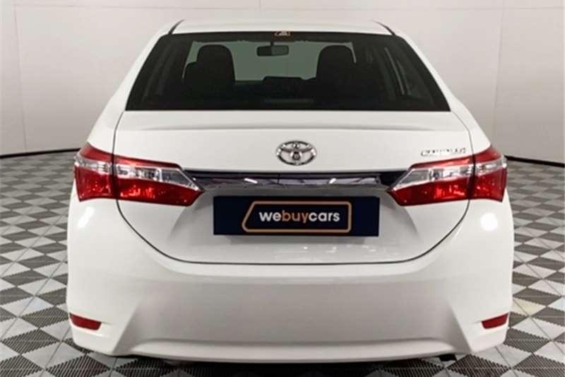 2017 Toyota Corolla Corolla 1.3 Esteem