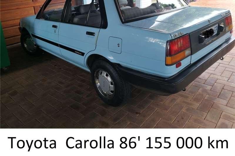 Toyota Corolla 1.3 Impact 1986