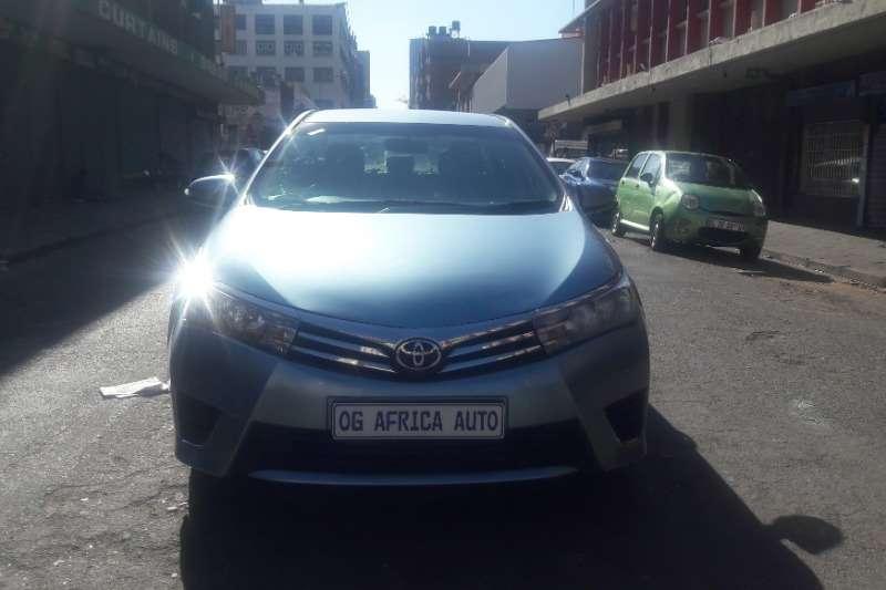 Toyota Corolla 1.3 Prestige 2014