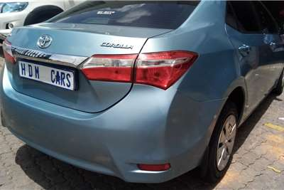 2016 Toyota Corolla Corolla 1.3 Prestige