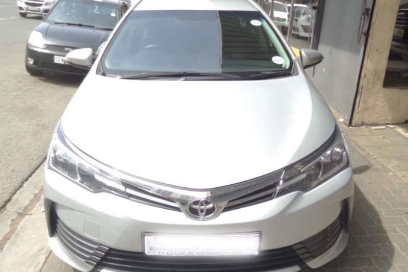Toyota Corolla 1.3 Prestige 2017