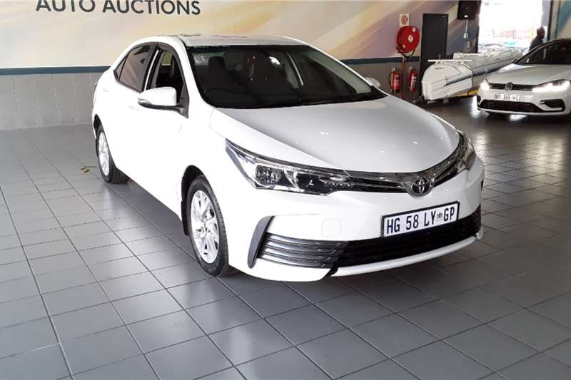 2018 Toyota Corolla Corolla 1.3 Prestige