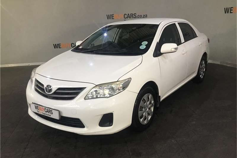 toyota corolla 1 3 professional 2012 id 63599453 type main - We Buy Cars Cape Town Montague Gardens