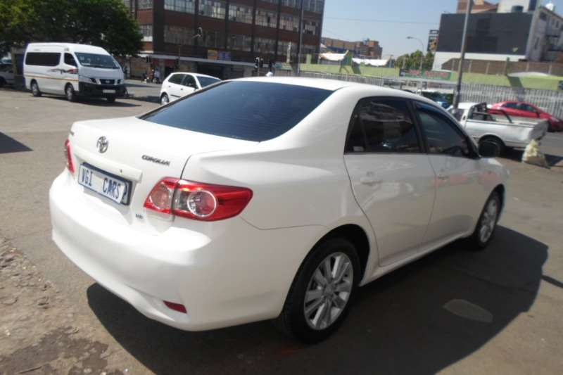 2012 Toyota Corolla Corolla 1.4 Advanced