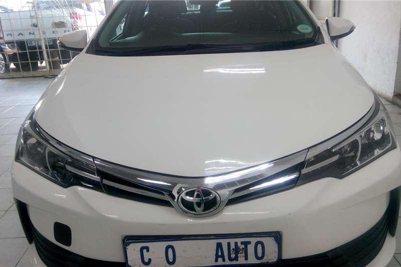 Toyota Corolla 1.4  PRESTIGE 2018