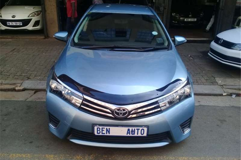 Toyota Corolla 1.4 Professional 2016