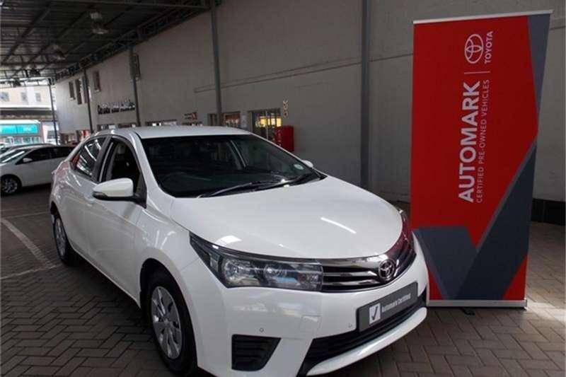 Toyota Corolla 1.4D 4D Esteem 2014