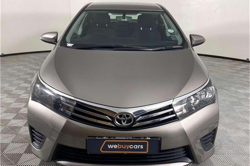 2014 Toyota Corolla Corolla 1.4D-4D Esteem