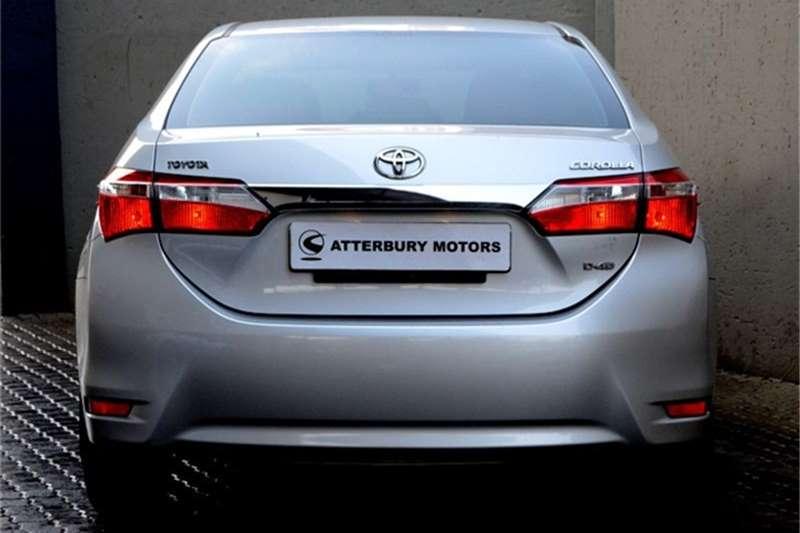 Toyota Corolla 1.4D-4D Esteem 2016