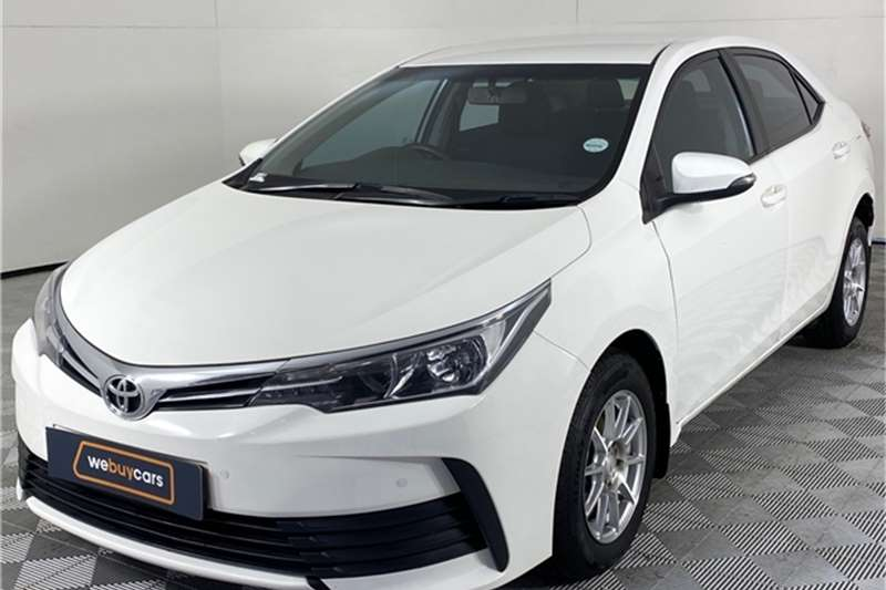 2018 Toyota Corolla Corolla 1.4D-4D Esteem