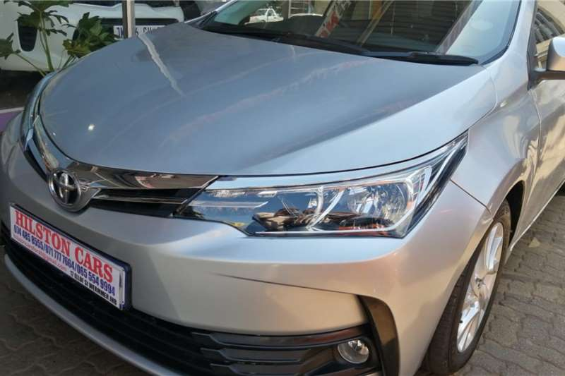 Used 2017 Toyota Corolla 1.4D 4D Prestige