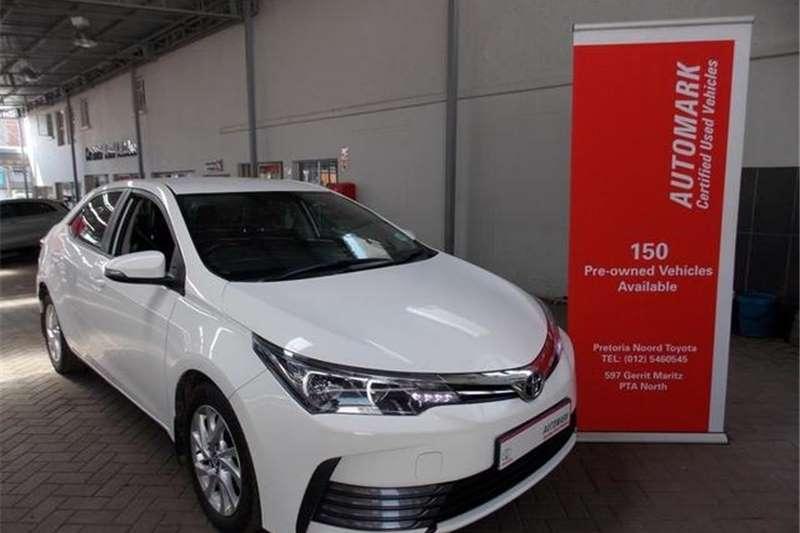 Toyota Corolla 1.4D 4D Prestige 2018