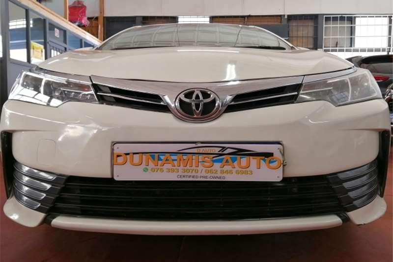 2018 Toyota Corolla Corolla 1.4D-4D Prestige