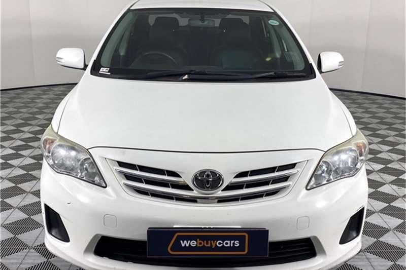 2013 Toyota Corolla Corolla 1.6 Advanced