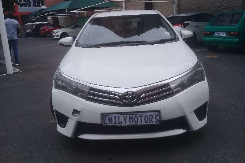Toyota Corolla 1.6 Advanced 2014