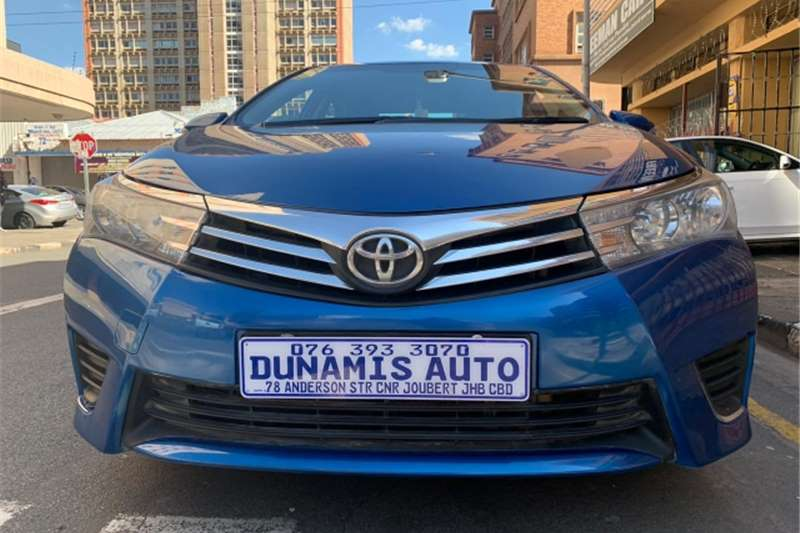 Toyota Corolla 1.6 Advanced 2015